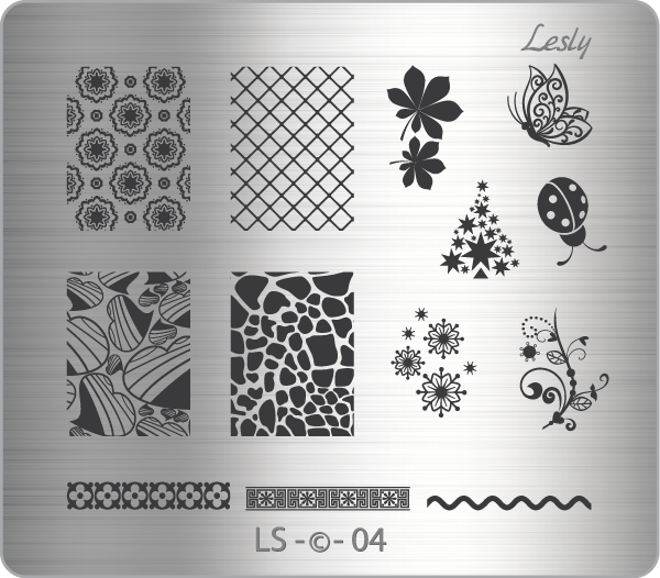 Lesly LS-04 stamping plate
