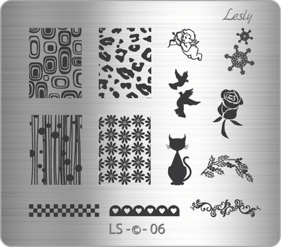 Lesly LS-06 stamping plate
