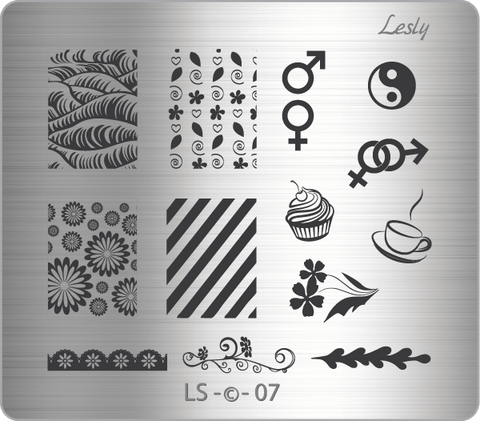 Lesly LS-07 stamping plate