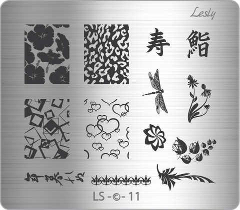 Lesly LS-11 stamping plate