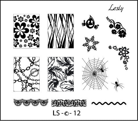 Lesly LS-12 stamping plate