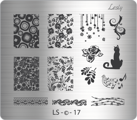 Lesly LS-17 stamping plate