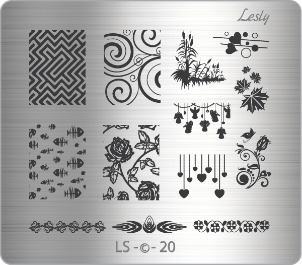 Lesly LS-20 stamping plate