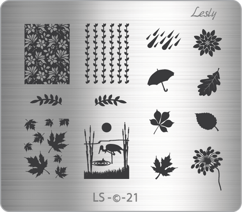 Lesly LS-21 stamping plate