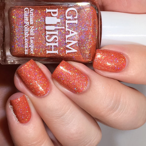 Glam Polish - Alphabet City - Loud As The Hell You Want