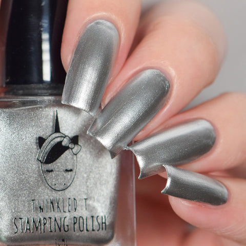 Twinkled T - stamping polish - Lowkey