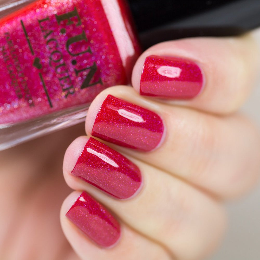 F.U.N Lacquer - Red-Nosed Reindeer (discontinued)