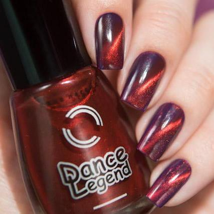 Dance Legend - Top Magnetic Red - magnetic top coat