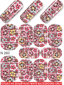 MILV water decals - N 260