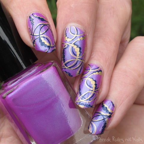 Hit The Bottle stamping polish - Navy Jones's Locker (5ml)
