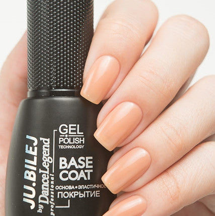 Ju.Bilej by Dance Legend - Nude Warm Plus Gel Base Coat