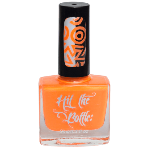 Hit The Bottle stamping polish - Orange You Excited? (9ml)