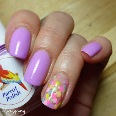 Parrot Polish - Blueberry Cream