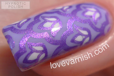 Hit The Bottle stamping polish - Paint the Town Violet (5ml)