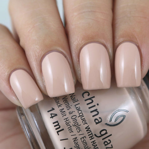 China Glaze - Shades of Nude - Pixilated