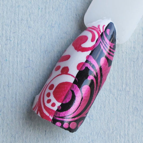 Hit The Bottle stamping polish - Psycho Pink (5ml)