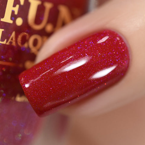 F.U.N Lacquer - Red-Nosed Reindeer