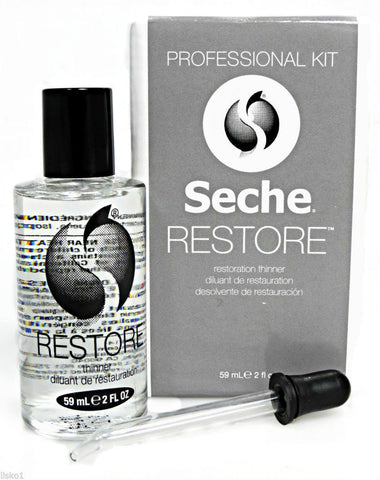 Seche Restore Kit - top coat thinner 59ml