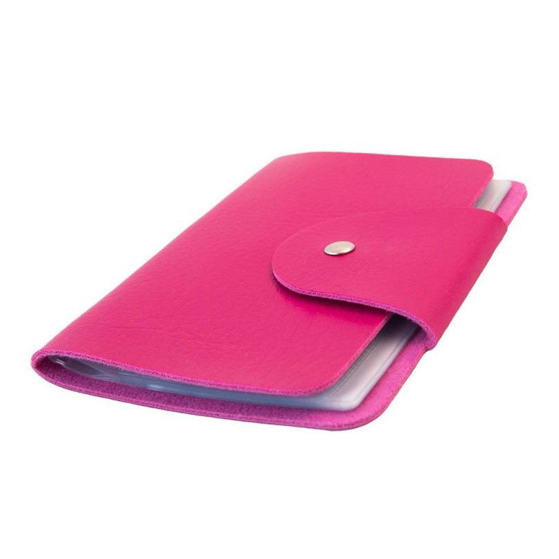 UberChic Mini Stamping Plate Storage Folder - Pink