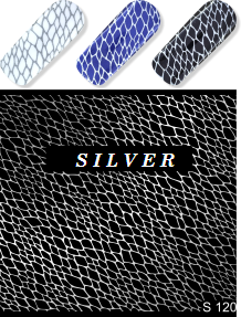 MILV water decals - S 120 silver