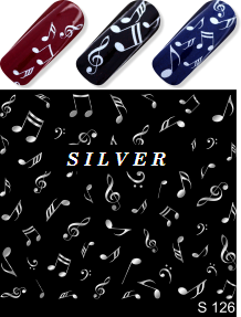 MILV water decals - S 126 silver