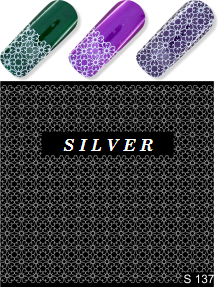 MILV water decals - S 137 silver