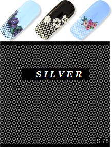 MILV water decals - S 078 silver