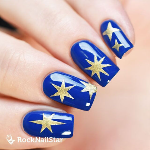 RockNailStar vinyl stencils and stickers - Shine mini