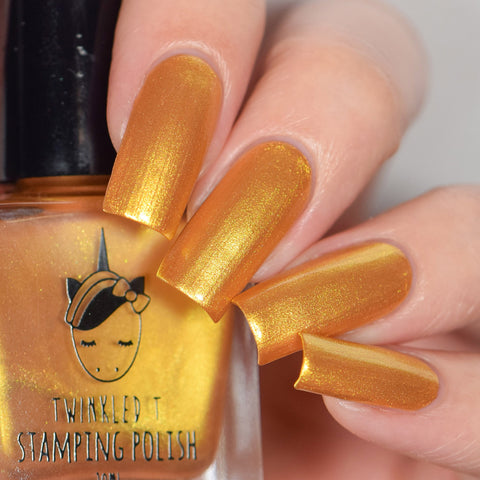 Twinkled T - stamping polish - So Extra