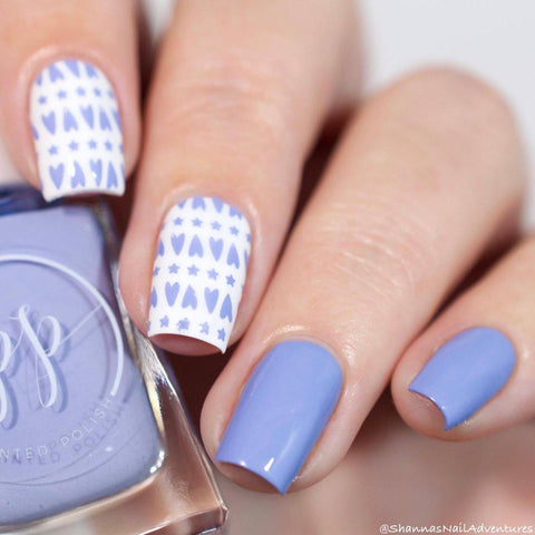 Painted Polish - Stamped in Taro