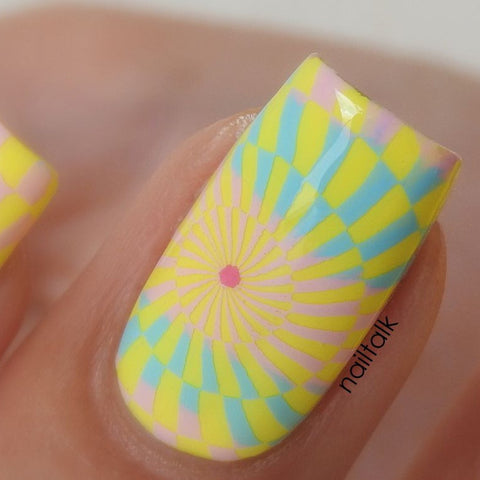 Colour Alike - Stamping Polish - Blue Sky