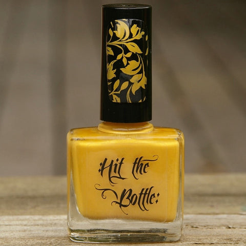 Hit The Bottle stamping polish - The Yolk Is On You! (5ml)