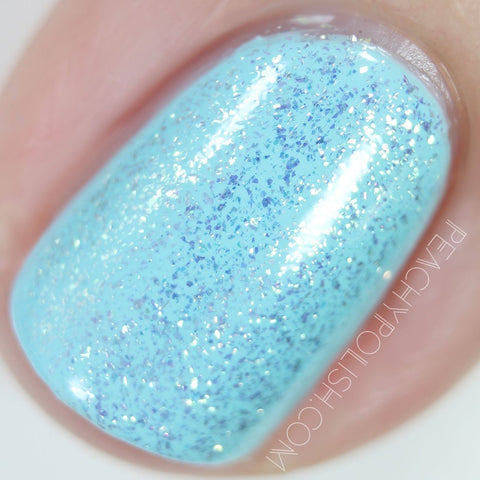 China Glaze - Seas and Greetings - Twinkle, Twinkle Little Starfish