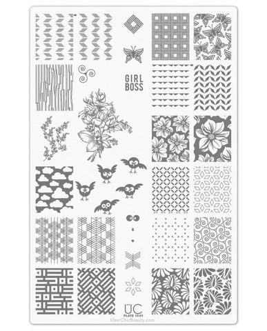 UberChic Collection 15 stamping plates