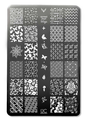 UberChic Collection 24 stamping plates