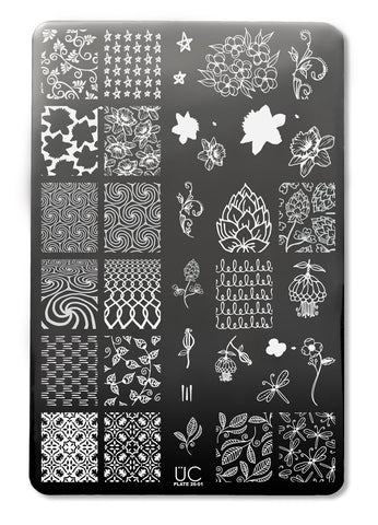 UberChic Collection 26 stamping plates