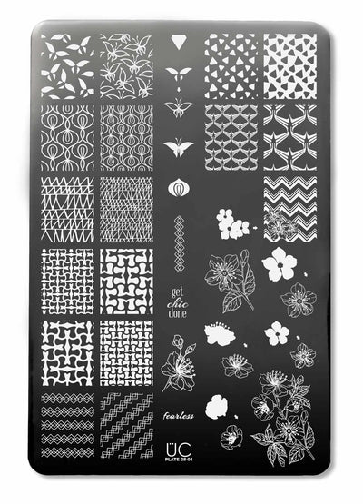 UberChic Collection 28 stamping plates