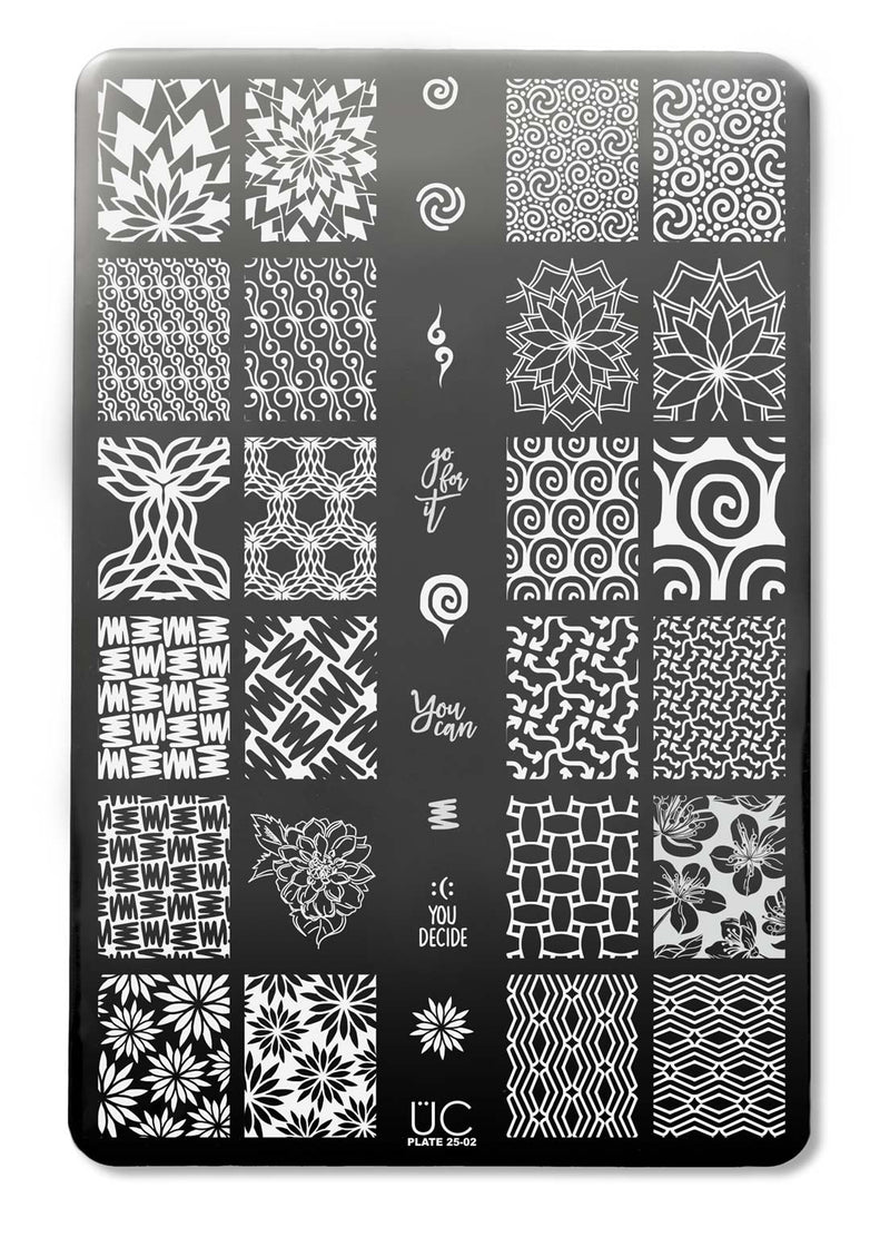 UberChic Collection 25 stamping plates