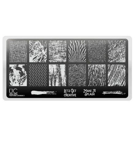 Uber Mini Texture-Licious 03 stamping plate
