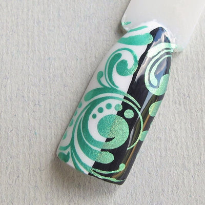Hit The Bottle stamping polish - Sweet child of Lime (9ml)
