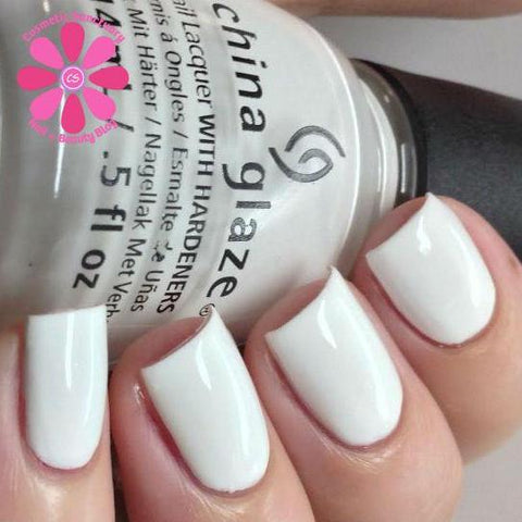 China Glaze - Core - White On White