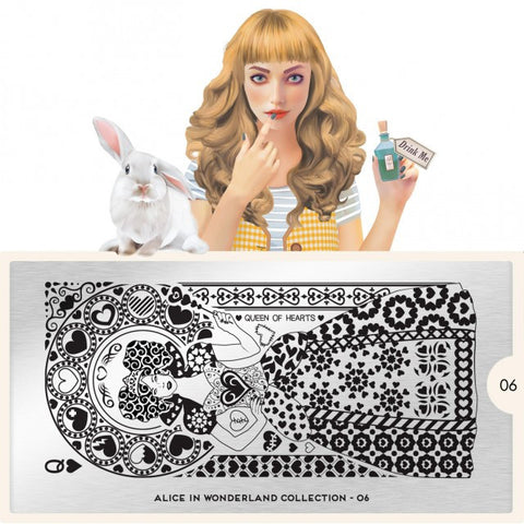MoYou London Alice 06 stamping plate