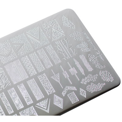 Lesly Animal Instinct 1 stamping plate