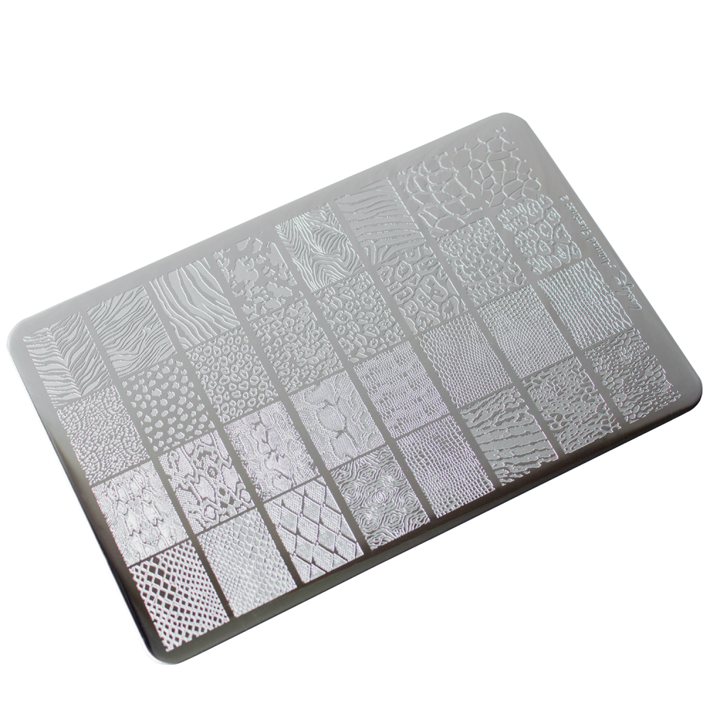 Lesly Animal Instinct 2 stamping plate