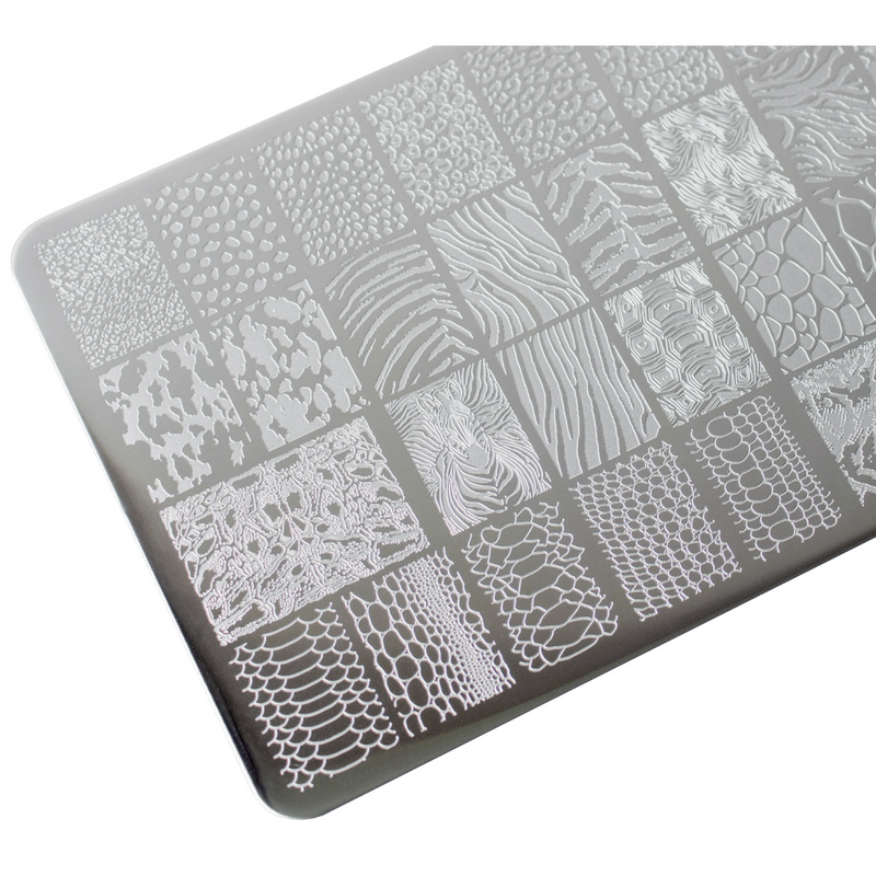Lesly Animal Instinct 3 stamping plate