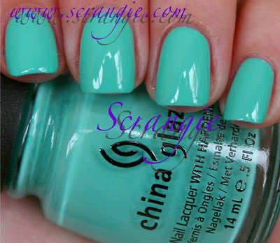 China Glaze - Electropop - Aquadelic