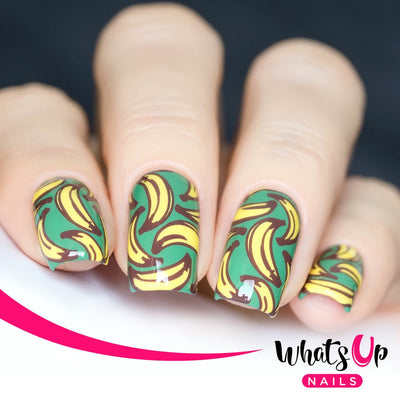 Whats Up Nails - B008 Summer Seeds stamping plate
