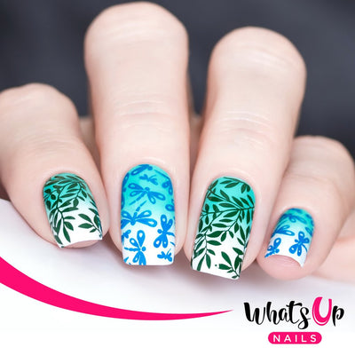 Whats Up Nails - B029 Picnic in the Park stamping plate