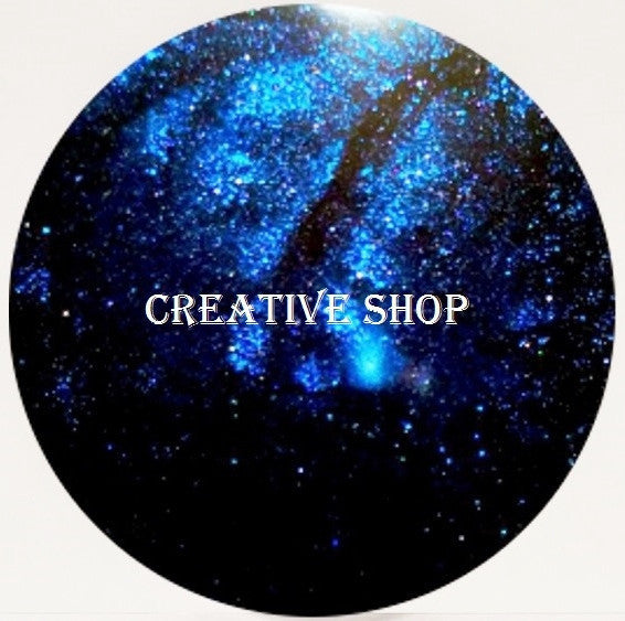 Creative Shop Space Collection replacement stamper head - Black/Blue