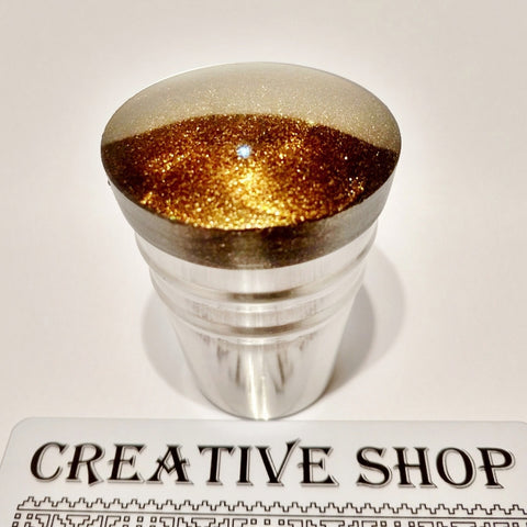 Creative Shop Space Collection stamper and scraper - Dark Side - Black/Gold